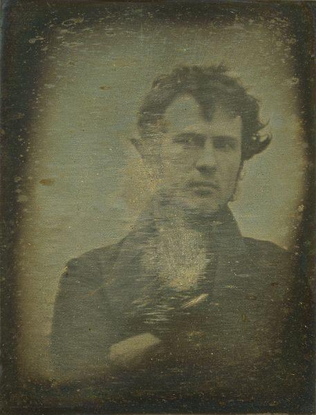eerste foto van een menselijk gezicht