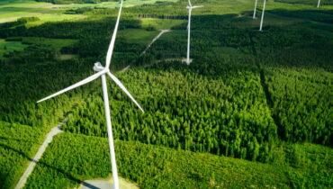 finland - windmolens