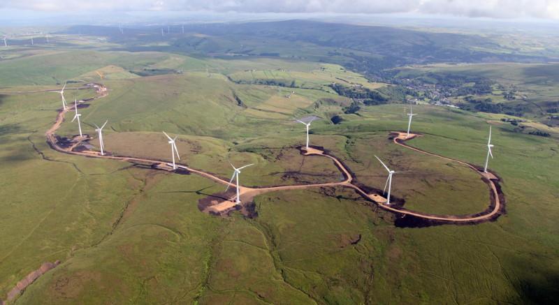 verenigd koninkrijk - duurzaam - windmolens