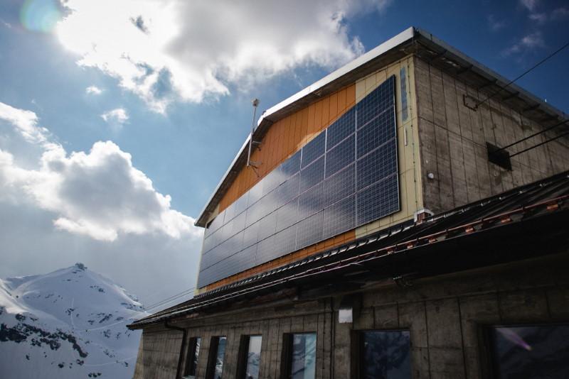 zwitserland - zonnepanelen