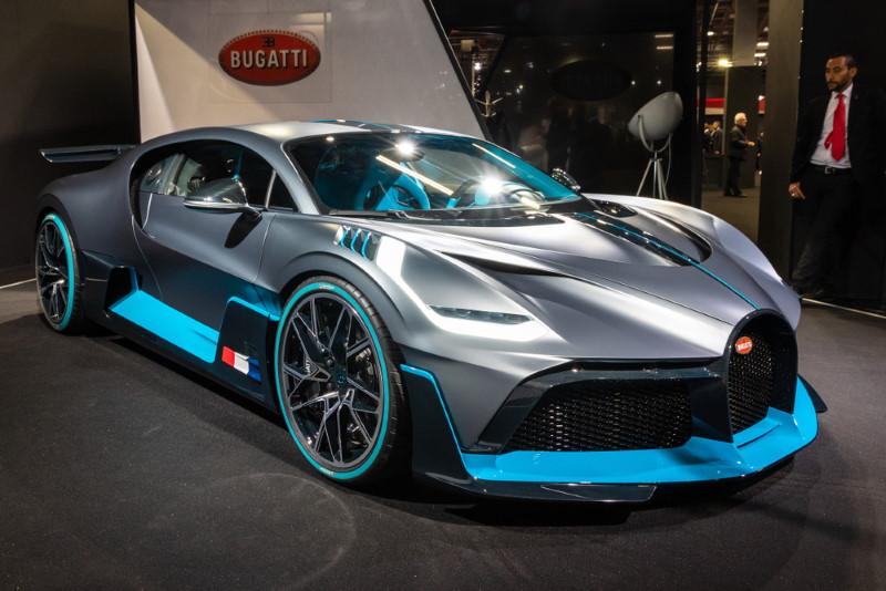 Bugatti Divo - voorkant
