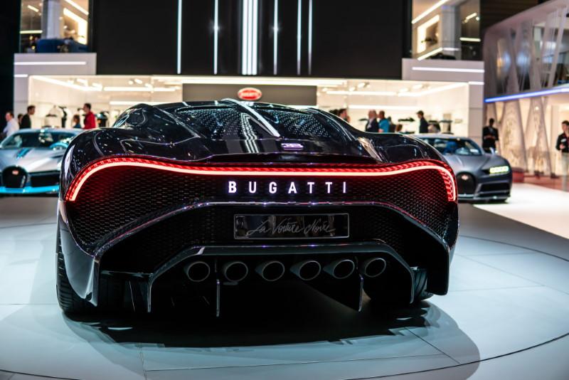 Bugatti La Voiture Noire - achterkant