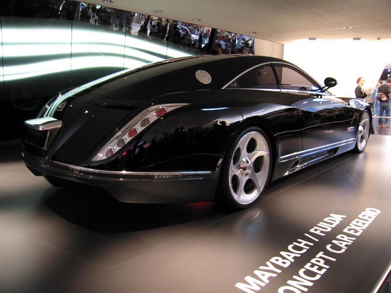 Mercedes Benz Maybach Exelero achterkant