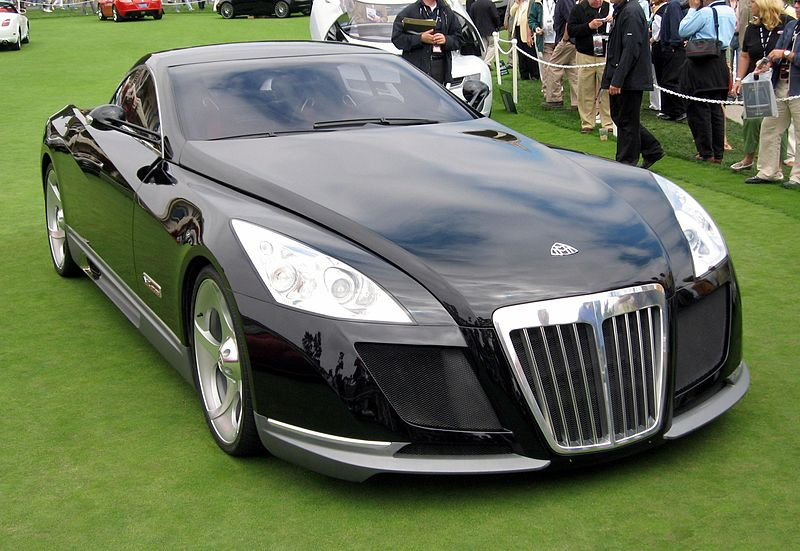 Mercedes Benz Maybach Exelero voorkant