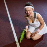 kreunende tennisvrouwen