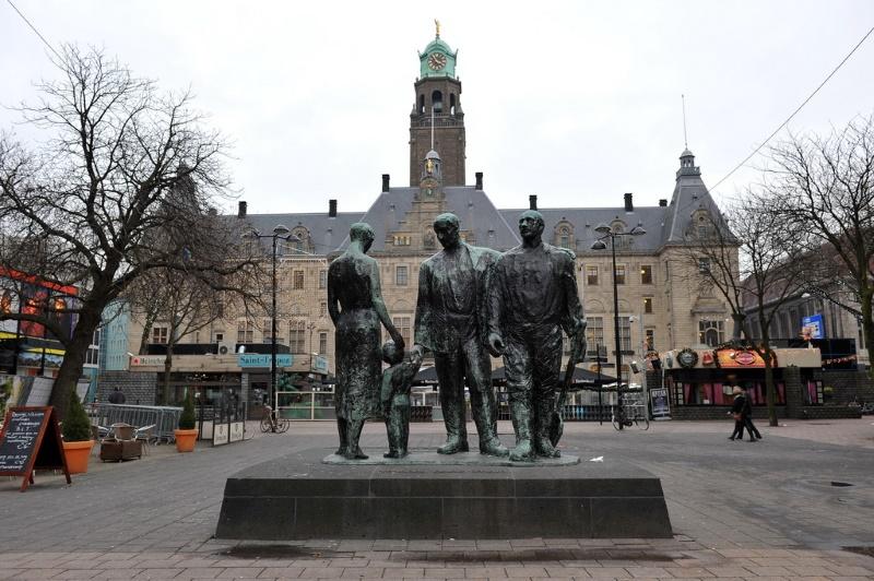 Stadhuisplein rotterdam