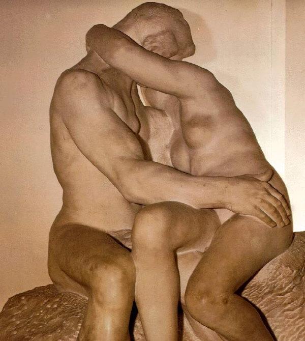 De Kus - beeld Rodin