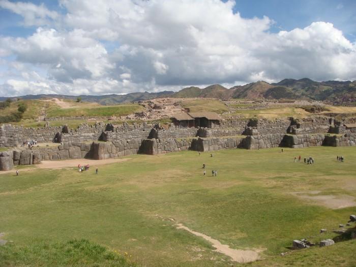 Sacsayhuamán muur