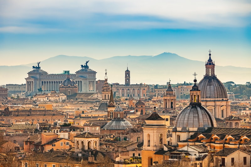 de stad rome