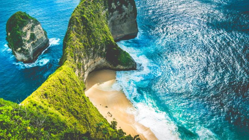Bali stranden