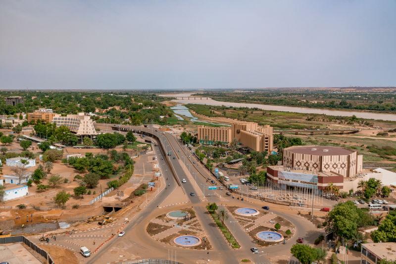 Niamey hoofdstad niger