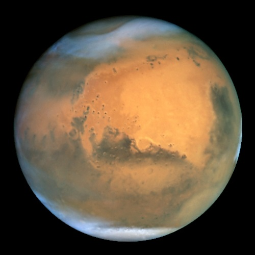 Mars - TOP 10 OBJECTS IN SPACE , WICH YOU CAN SEE WITH YOUR NAKED EYES PLANETS AND THE STARS