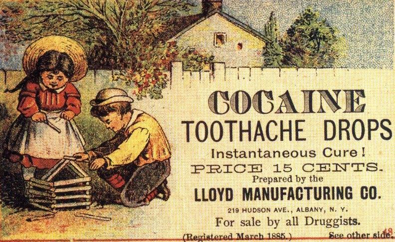 Cocaïne als geneesmiddel