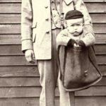kinderen met de post