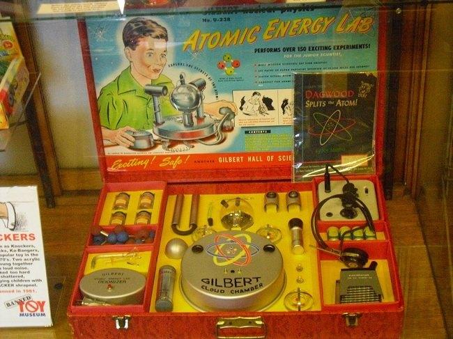 radioactief speelgoed