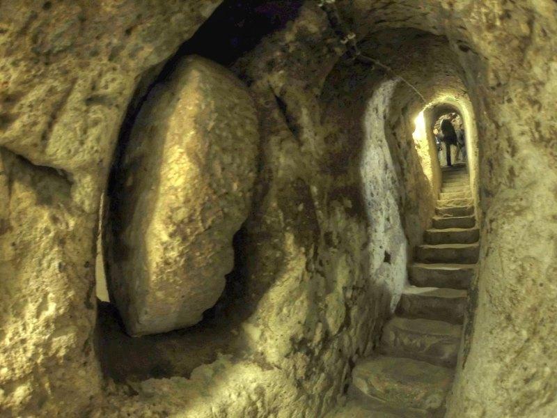 Derinkuyu turkse ondergronds stad