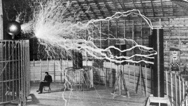 Tesla's elektriciteitszender