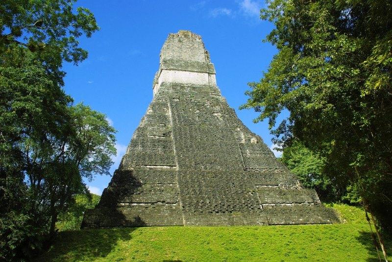 Tikal tempel IV