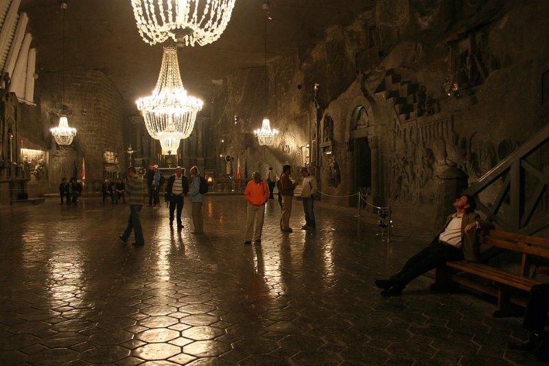 Wieliczka ondergronds zoutmijn