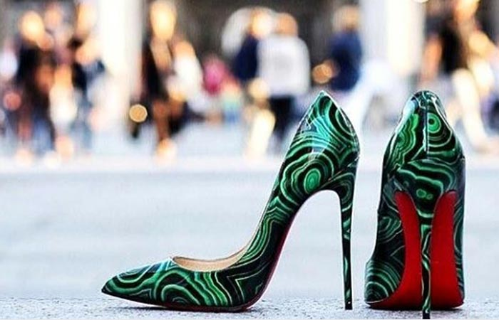 Christian Louboutin iconische schoenen met rode zool