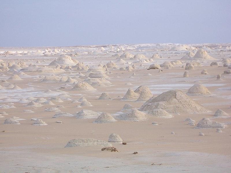 Farafra woestijn