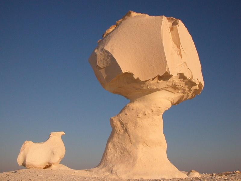 Farafra witte woestijn