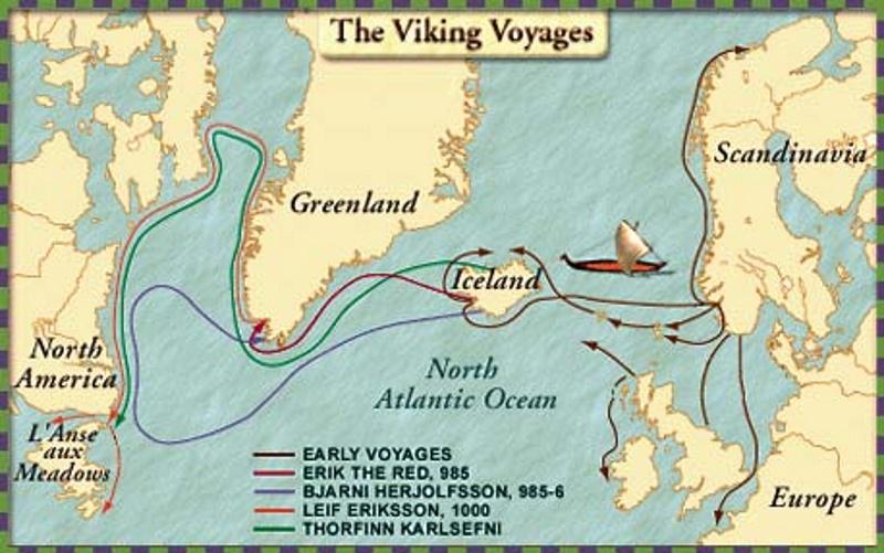 Leif Eriksson route