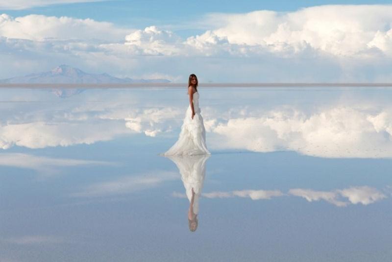 Salar de Uyuni - spiegel