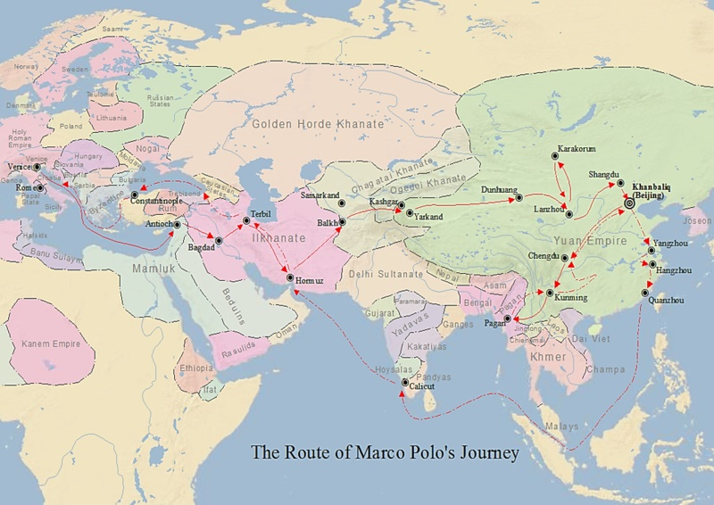 marco polo route