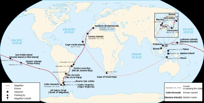 megellaan route