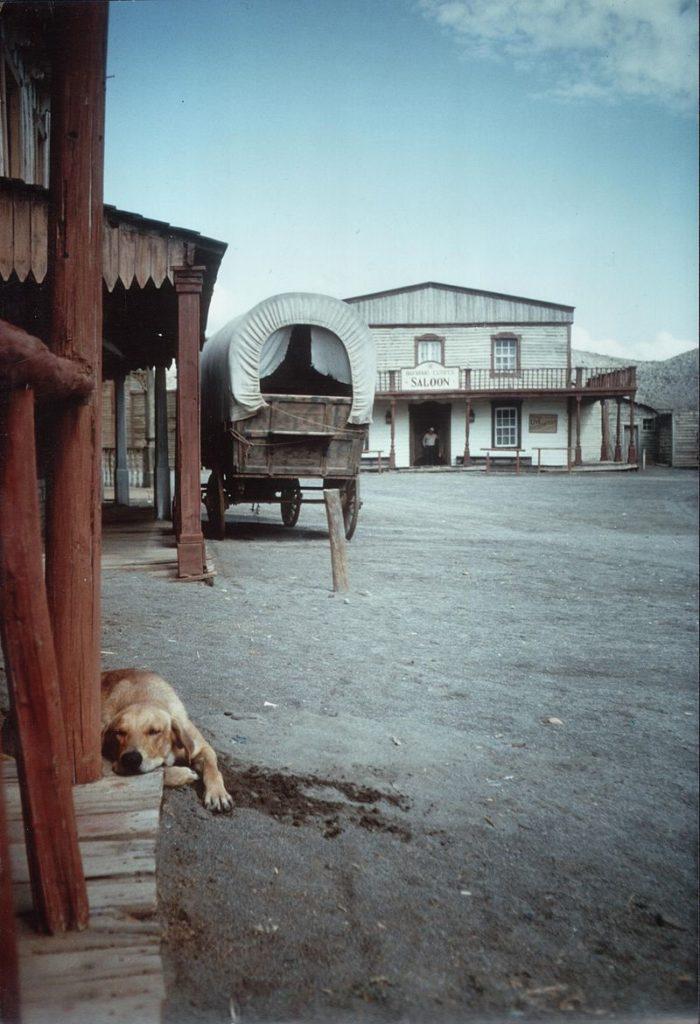 Tabernas - spanje woestijn