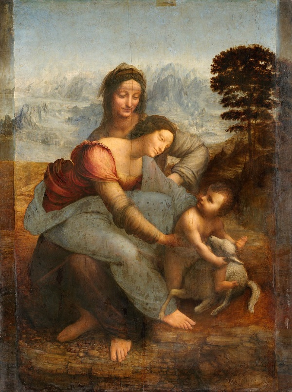 Maria met kind en Sint-Anna