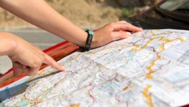 kaart lezen