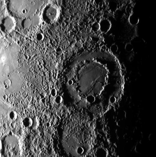 oppervlak mercurius