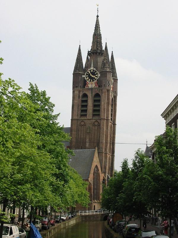 scheve kerk in delft