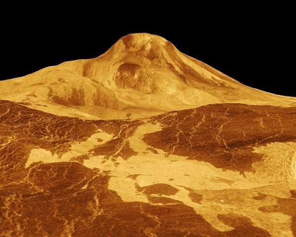 vulkanen op venus