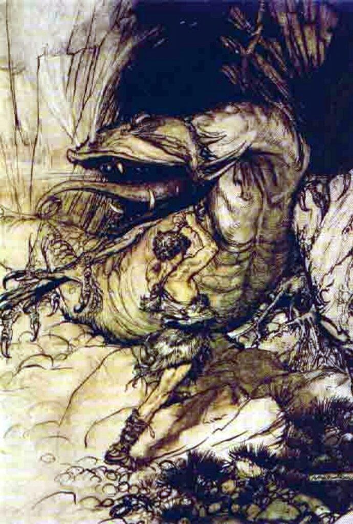 Fafnir noorse mythologie