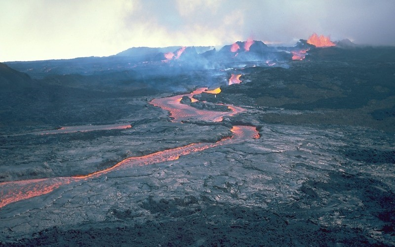 Mauna Loa - grootste vulkaan ter wereld