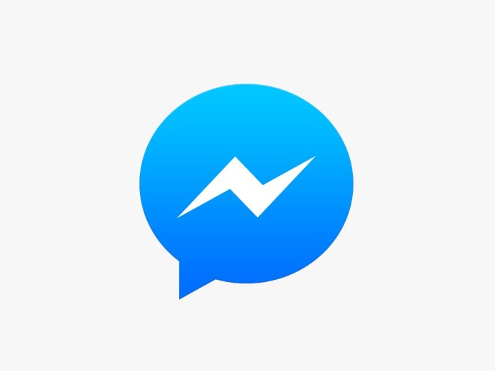 Messenger van facebook
