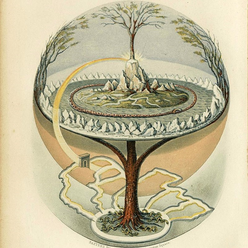 Yggdrasil - levensboom