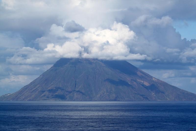 actieve vulkaan - Stromboli