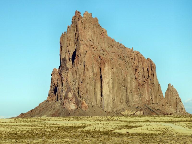 dode vulkaan - shiprock