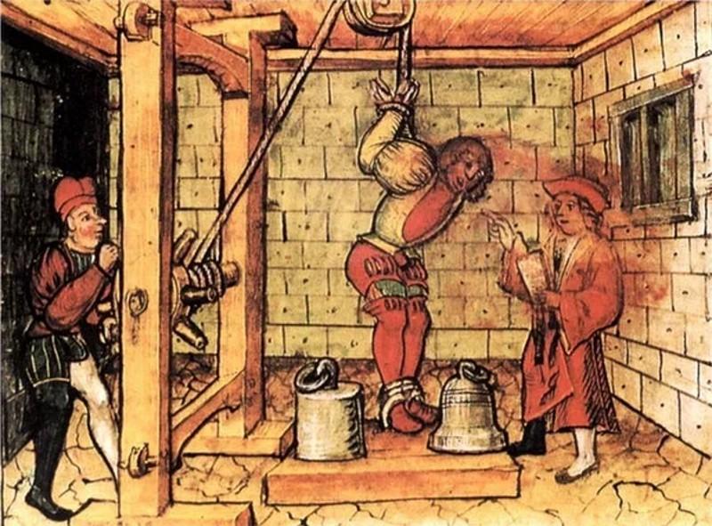 machiavelli in de gevangenis