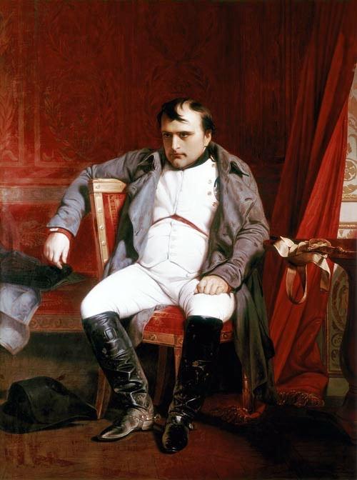 napoleon zelfmoord
