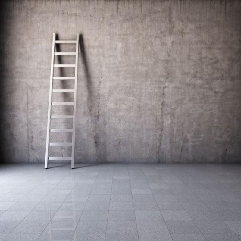 onder een ladder doorlopen