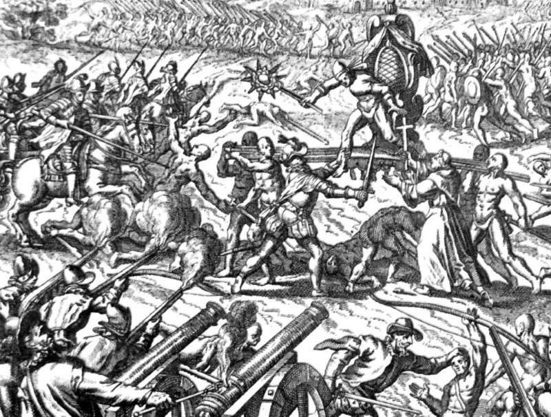 slag bij Cajamarca