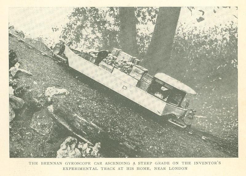 Brennan Monorail up the hill