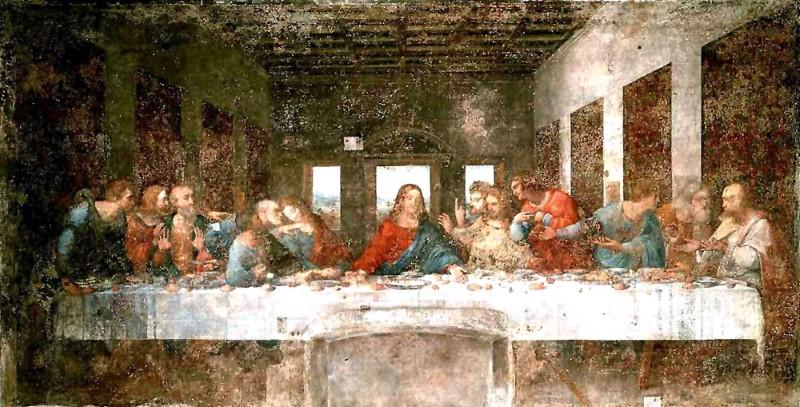 Het Laatste Avondmaal - schilderij
