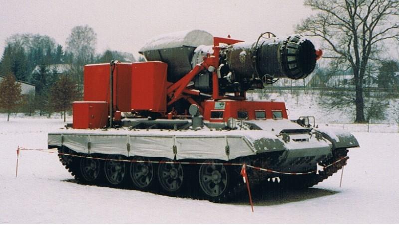 Hurricane T-55 - tank die branden kan blussen