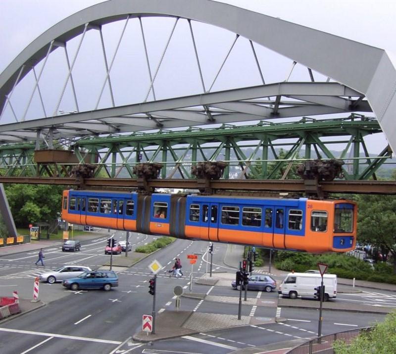 Wuppertal Schwebebahn now